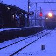 月潟駅・冬